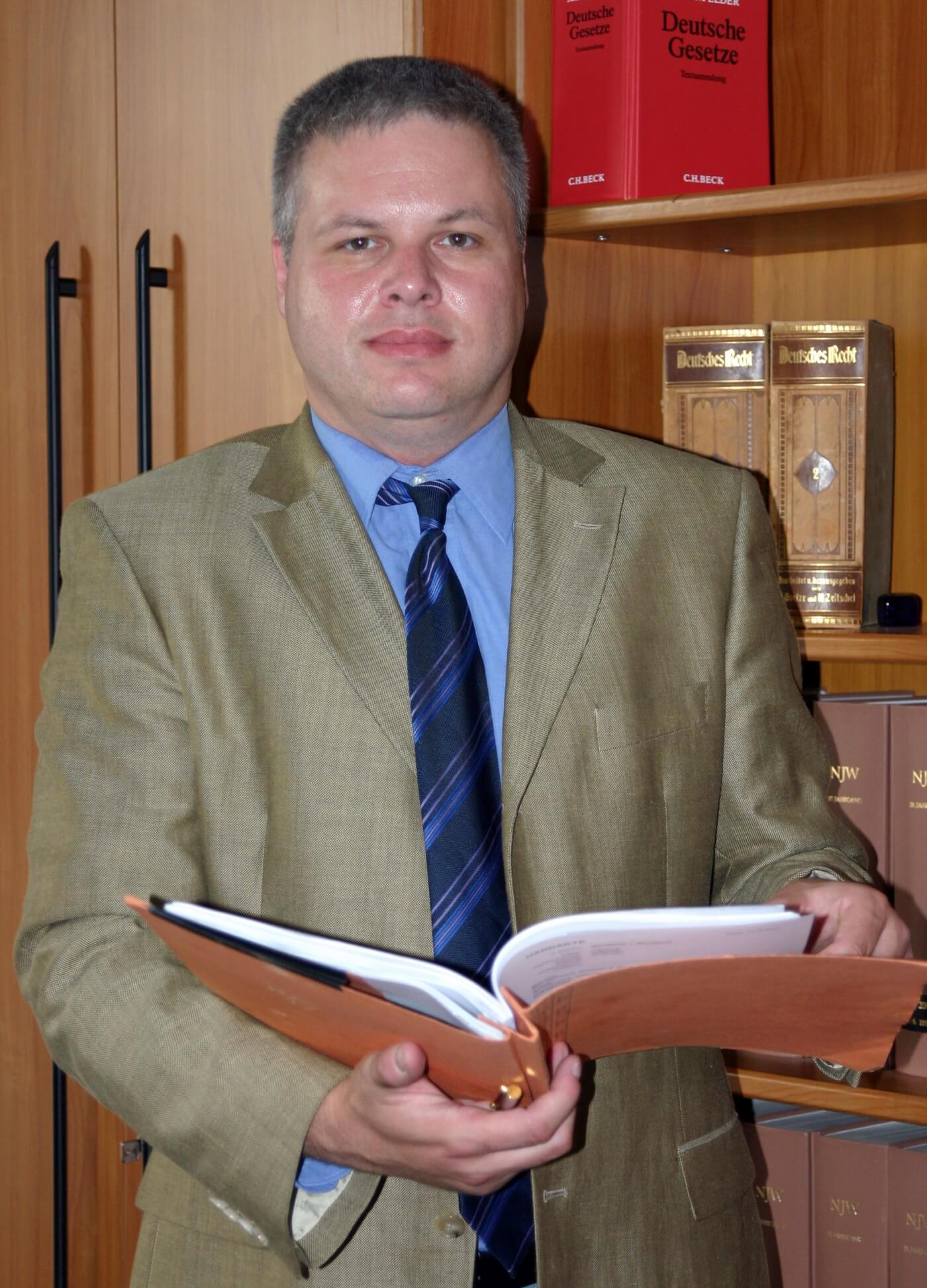 Mietrecht, Familienrecht, Strafrecht: Rechtsanwalt Andreas Schwartmann