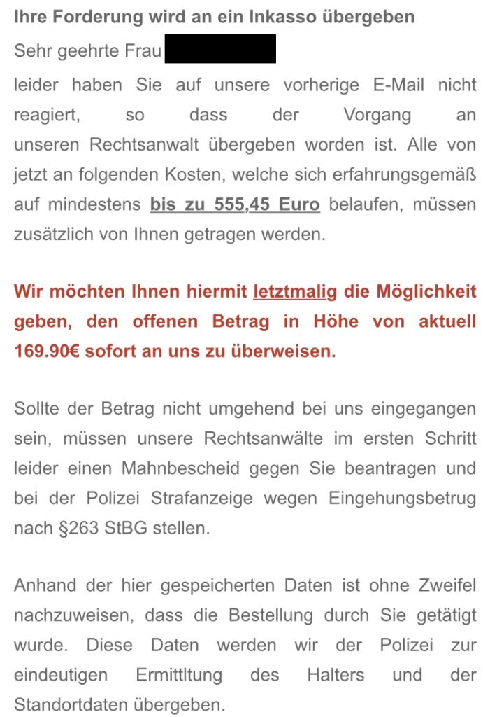 Blitz Inkasso Statt Blitzkredit Prepaid Kreditkarte Statt 7777 Eur