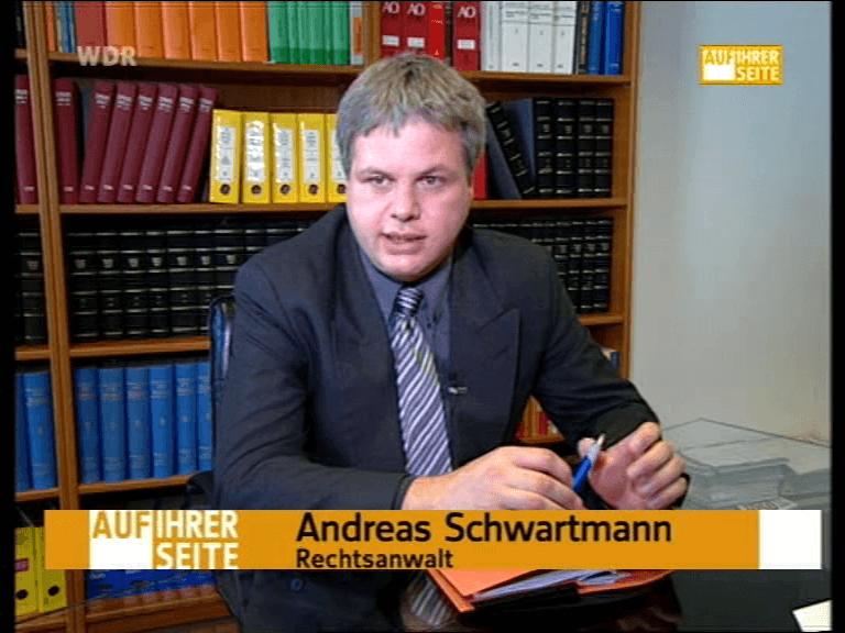 Andreas Schwartmann, Rechtsanwalt, Köln